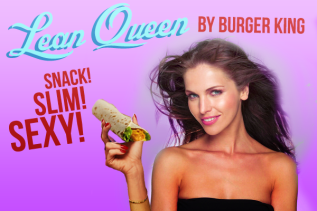 Burger King, Lean Queen Ad
