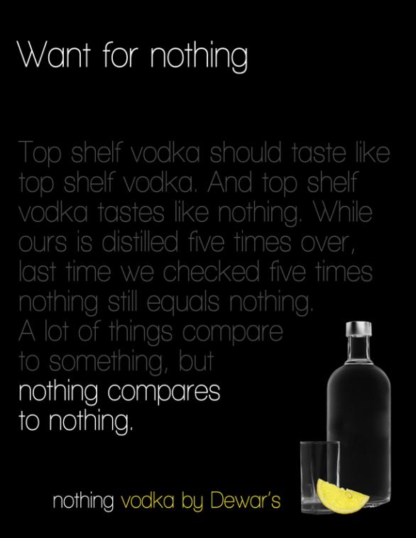 Nothing Vodka